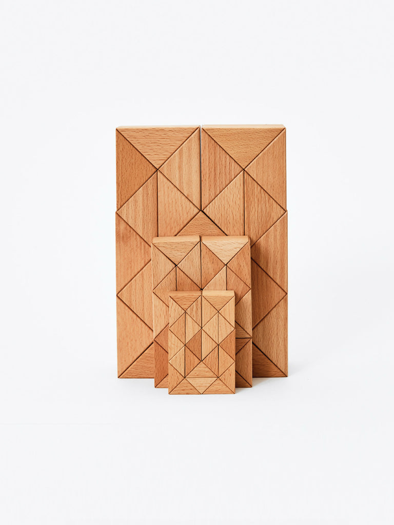 Medium Snake Block - Natural by Areaware