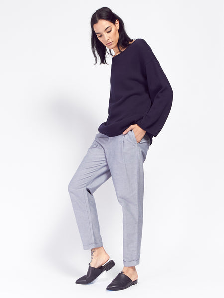 Classic Pant - Chambray by Kowtow
