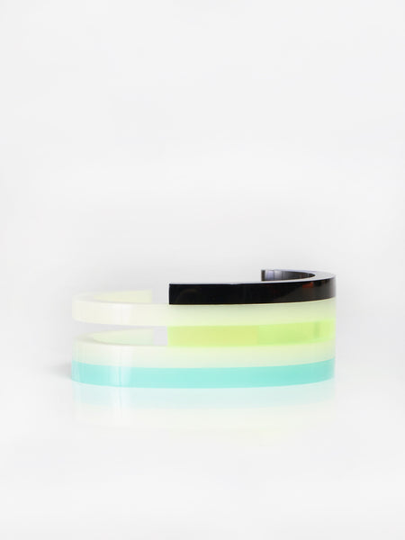 Kamekura Cuff Green by Rabbitneck