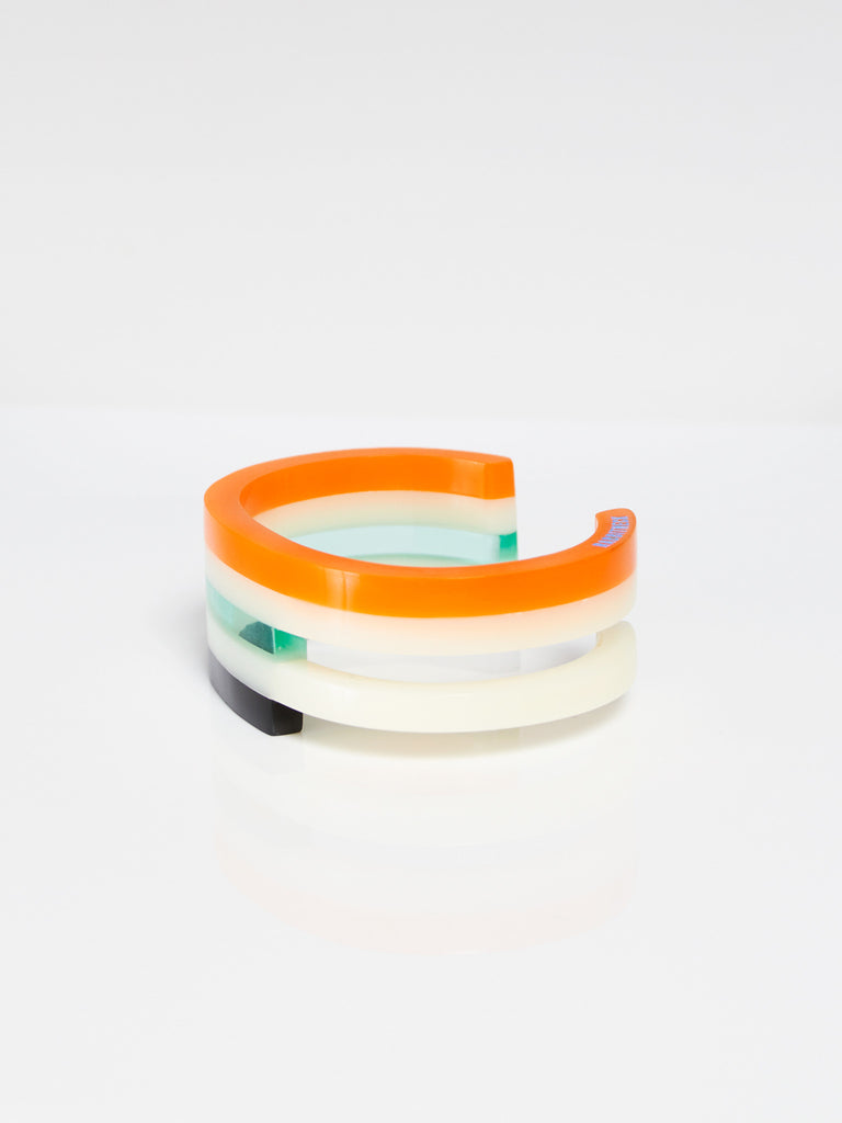 Kamekura Cuff Orange by Rabbitneck
