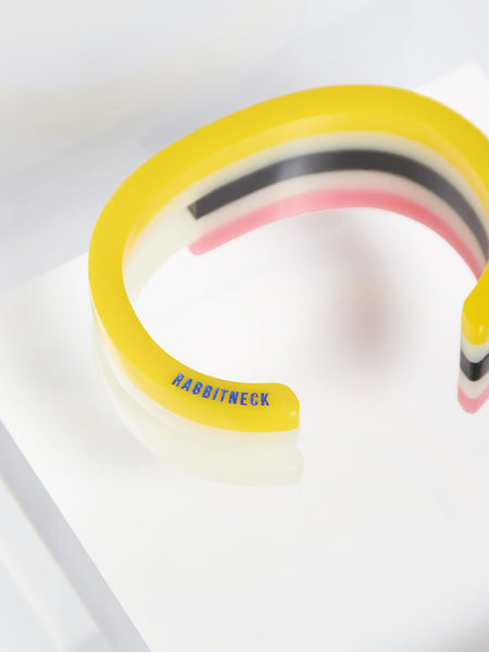 Kamekura Cuff Yellow by Rabbitneck