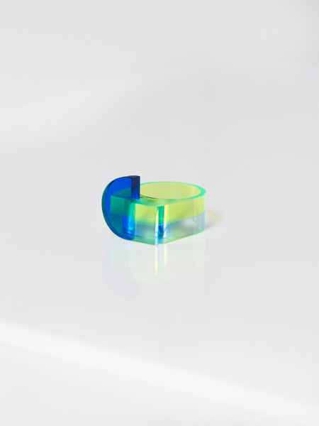 Lustig Ring Blue by Rabbitneck