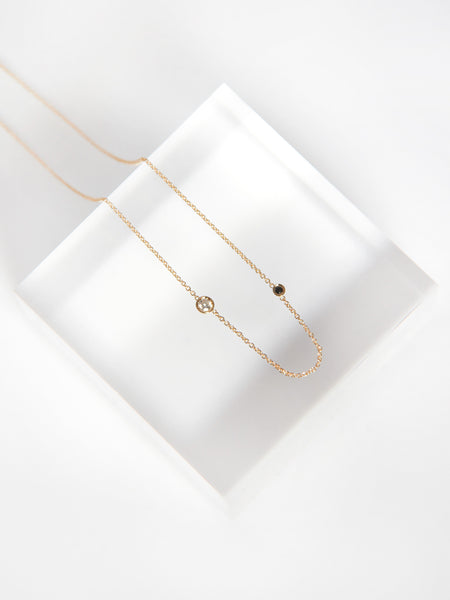 Iba Necklace White Diamond by Still House