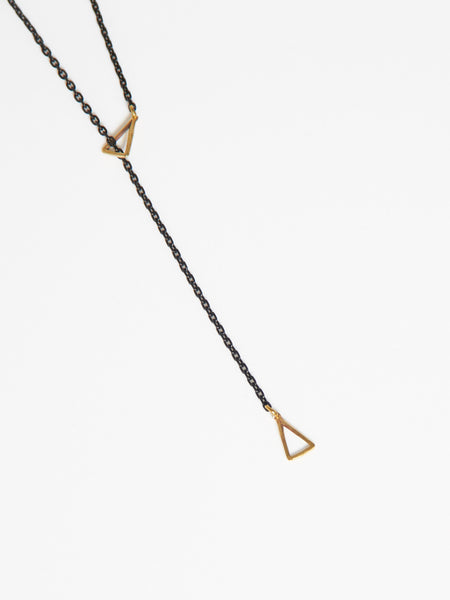 Petite Triangle Lariat by K/LLER