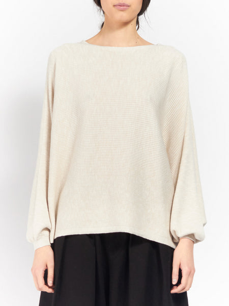 Dalia Sweater Ecru by Rodebjer