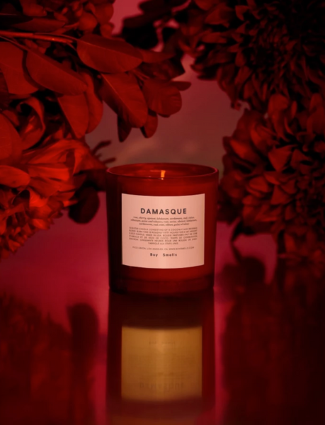Damasque Candle by Boy Smells