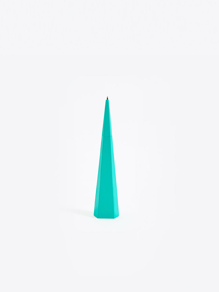 Standing Pen - Green Pentagon by Areaware