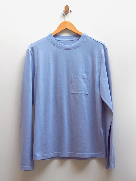 Workwear Longsleeve Tee - Light Blue by Albam