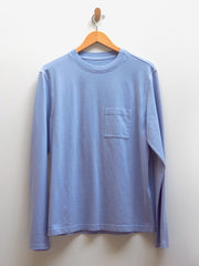 Workwear Longsleeve Tee - Light Blue
