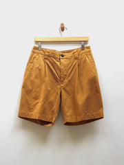 Ripstop Pleated Short - Tobacco