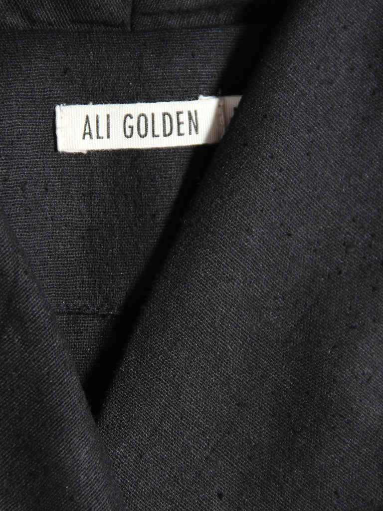 Slim Jacket - Black by Ali Golden