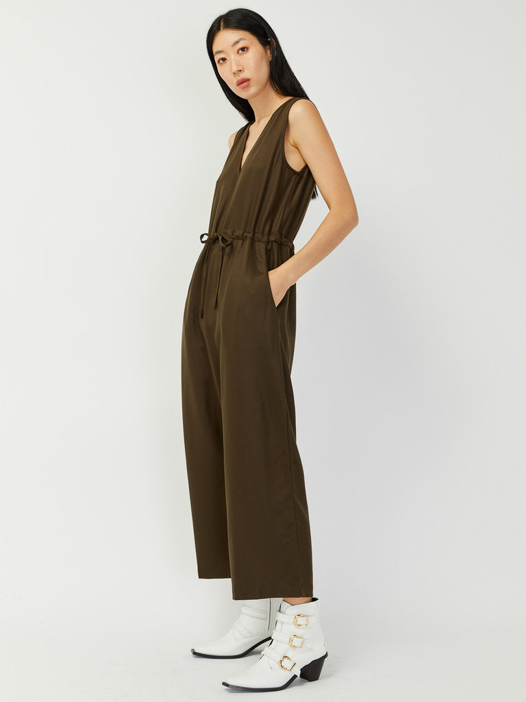 Slit Back Jumper - Mud by Ali Golden