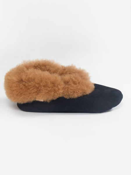 Alpaca Scuff Slippers by Ariana Bohling