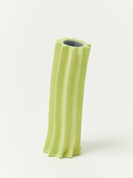 Daisy Flower Tube - Chartreuse by Anahit Pogosian