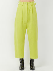 Wide Pant - Golden Kiwi