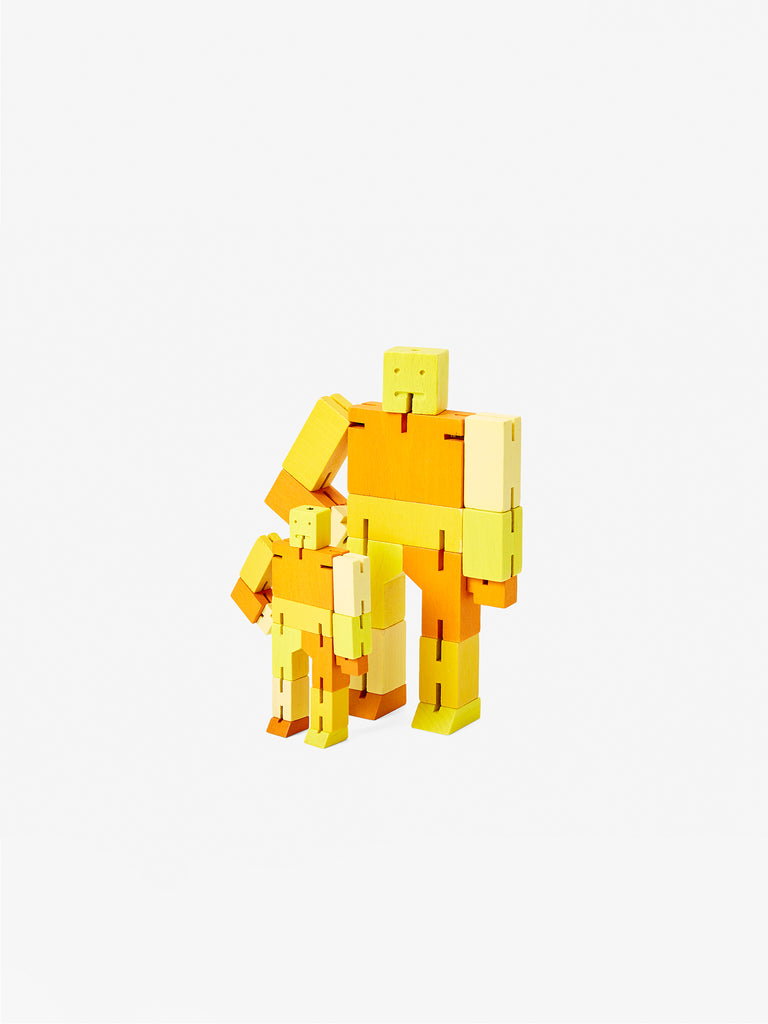 Cubebot Micro - Yellow by Areaware
