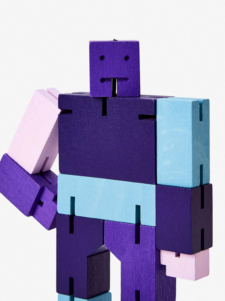 Cubebot Small - Purple by Areaware