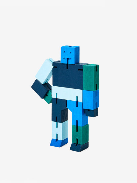 Cubebot Small - Blue by Areaware