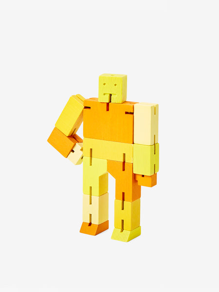 Cubebot Small - Yellow by Areaware