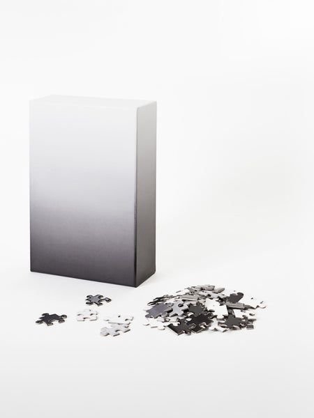 Gradient Puzzle - Black/White by Areaware