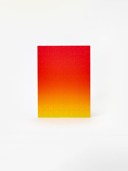 Gradient Puzzle - Red/Yellow by Areaware