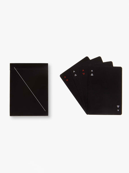 Minim Playing Cards - Black by Areaware