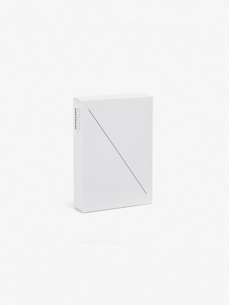 Minim Playing Cards - White by Areaware