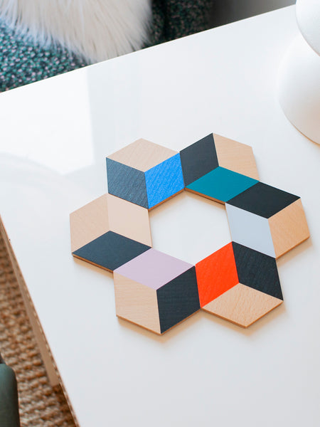 Table Tiles - Modern Multi by Areaware