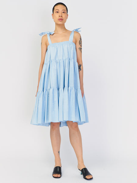 Amy Dress Skirt - Baby Blue by Batsheva