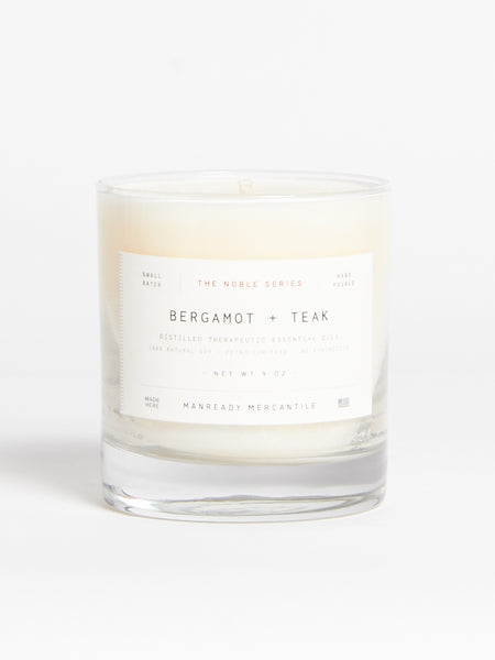 Bergamot & Teak Candle by Manready Mercantile