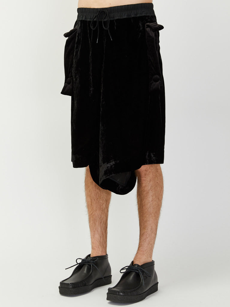 Lay Big Pocket Shorts by Bernhard Willhelm