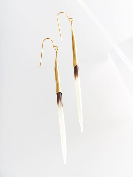 Bionic Quill Earrings by K/LLER