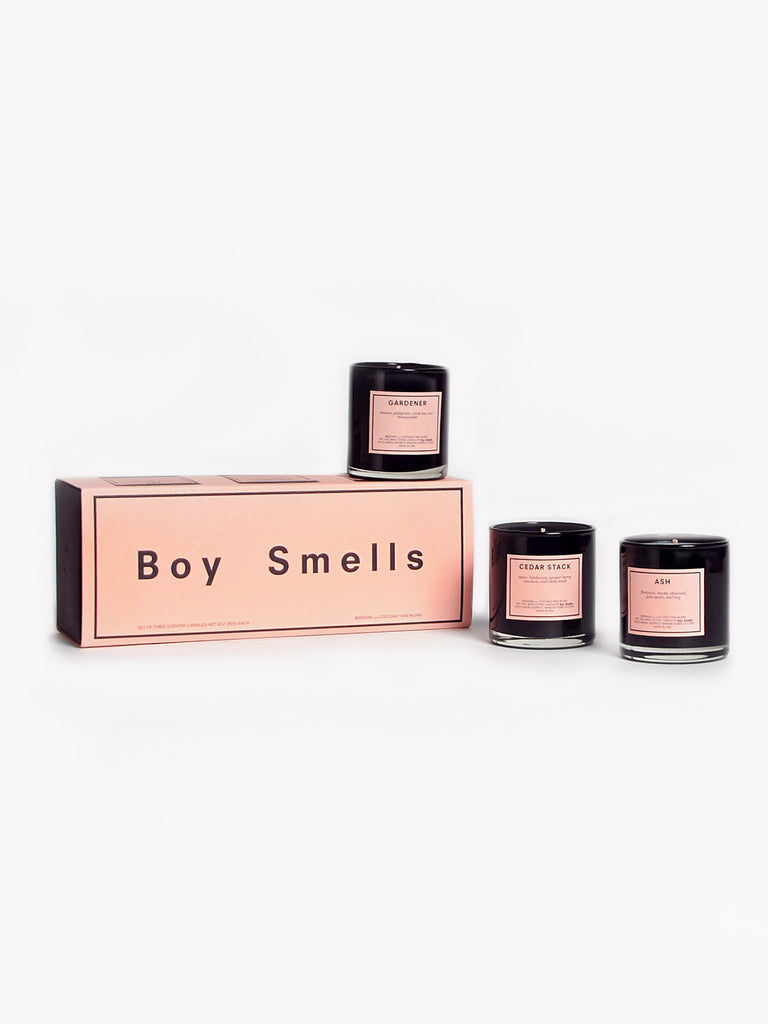 Votive Trio Candles by Boy Smells