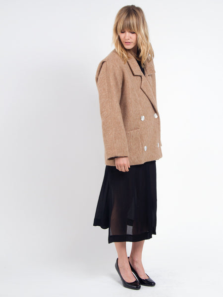 Brandy Pea Coat by Saunder