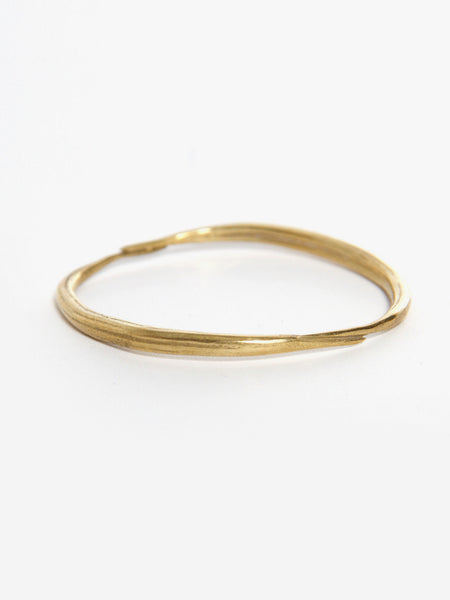Brass Quill Bangle by K/LLER