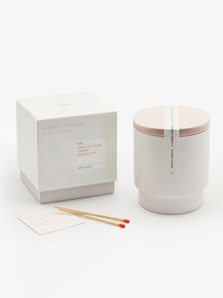 Blush Candle by Night Space