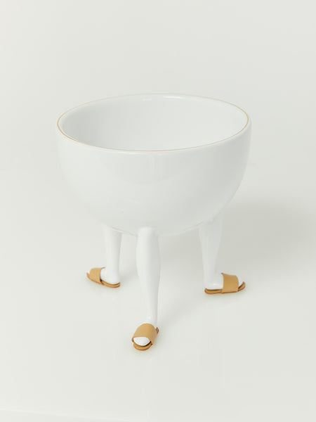 Leg Bowl with Shoes - Tan by Chen Chen and Kai Williams