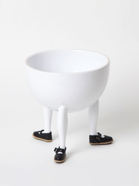Leg Bowl with Shoes - Building Block by Chen Chen and Kai Williams