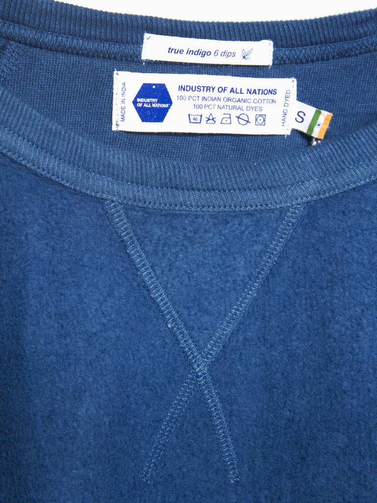 Clean Sweatshirt Indigo by Industry of All Nations