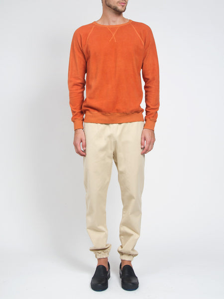 Clean Sweatshirt Orange by Industry of All Nations