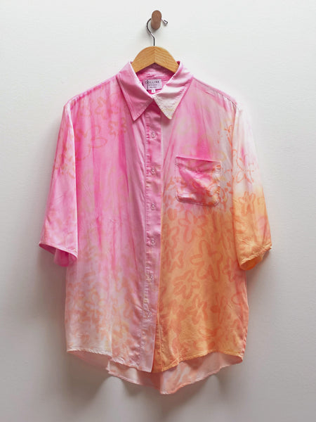 S/S Button Up Sunset Rose by Collina Strada