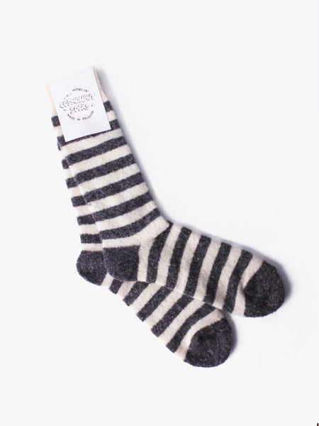 Cosmonaut Socks - White/Grey by Howlin