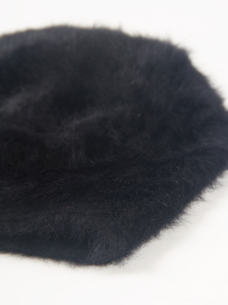 Cuffia Long Hat Black by Reinhard Plank