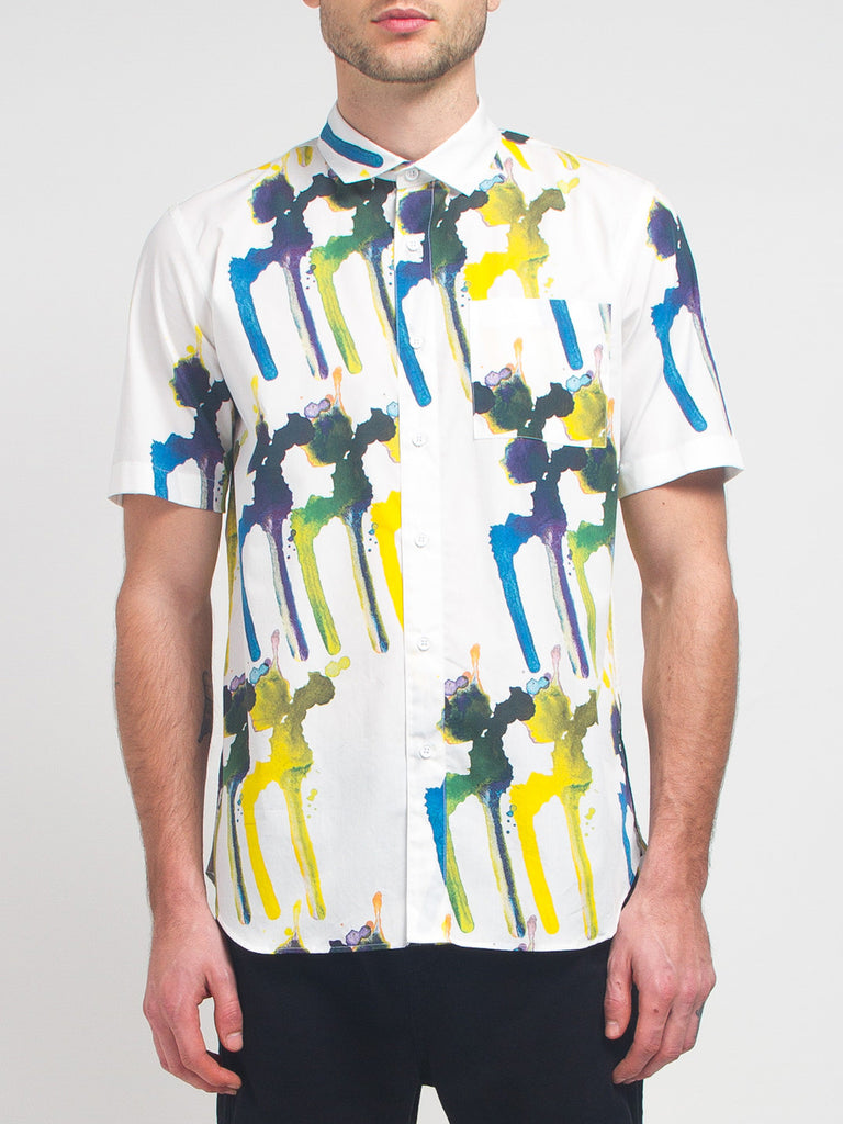 Ddugoff - Splotch Buttondown by Ddugoff
