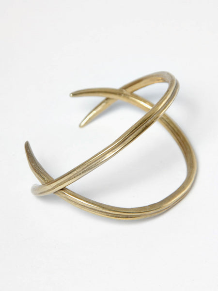 Double Quill Crossed Cuff by K/LLER
