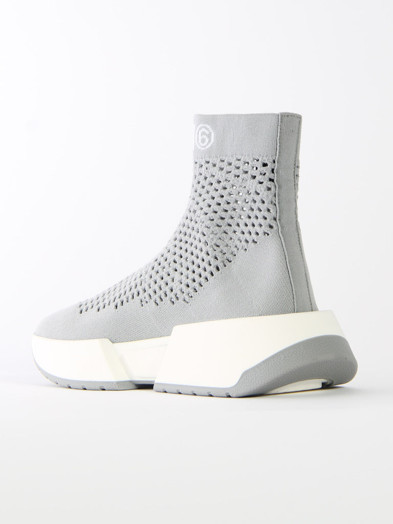 Perforated Knit Sneaker by MM6 Maison Margiela