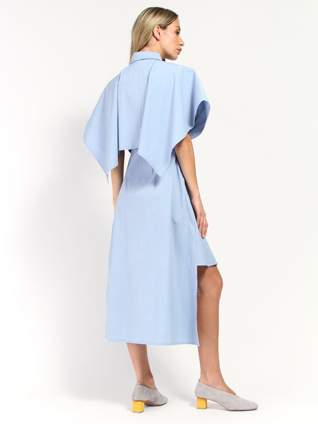 Juniper Cape Shirt Dress by Elohim