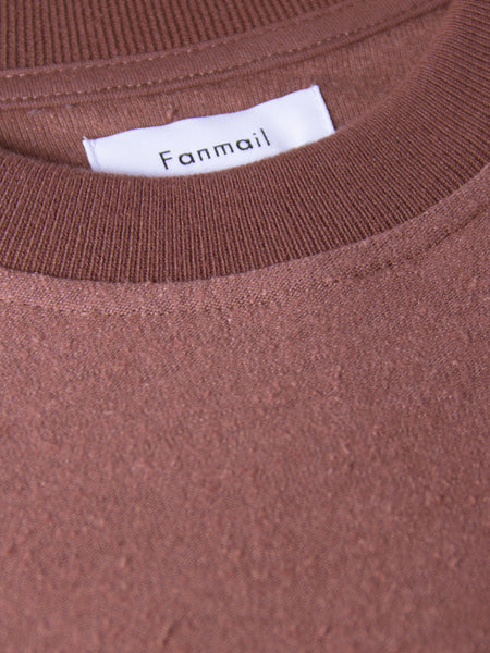 Boxy Tee Rose by Fanmail