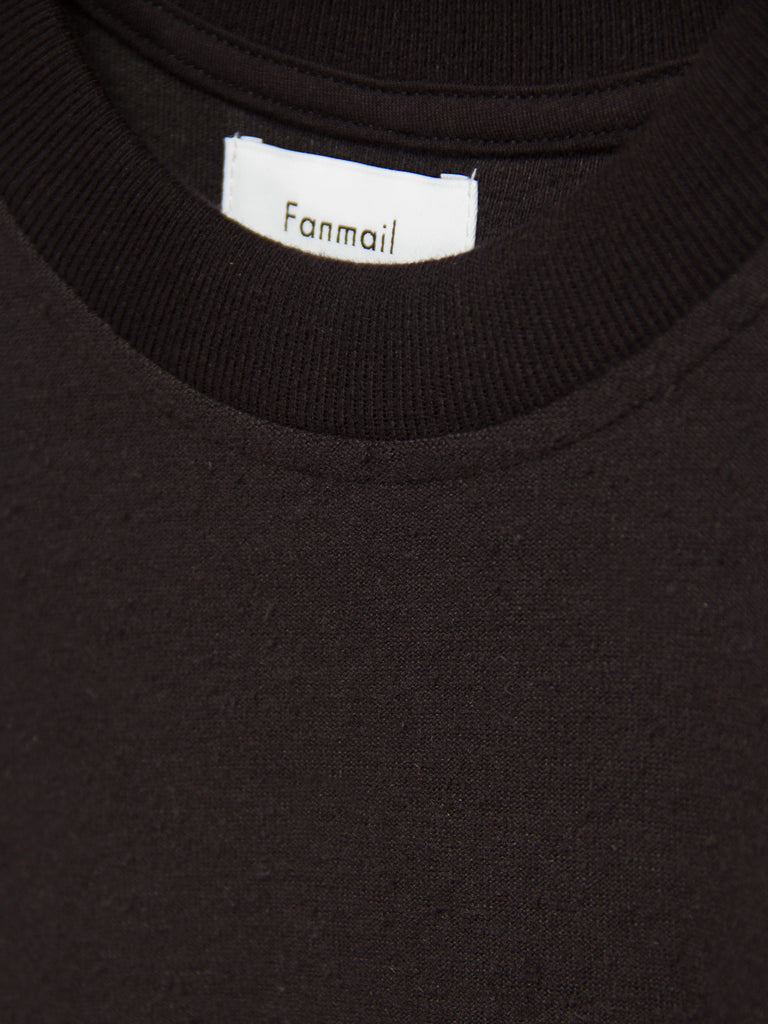 Boxy Tee - Black by Fanmail