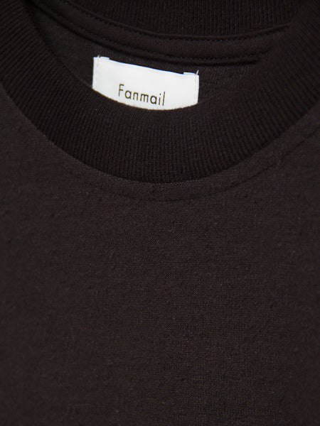 Boxy Tee Black by Fanmail